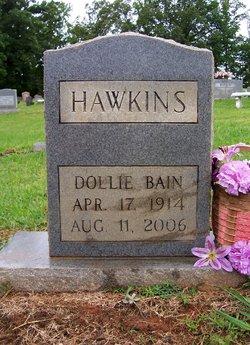 Dollie Hulda <I>Bain</I> Hawkins