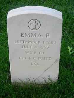 Emma B Deitz