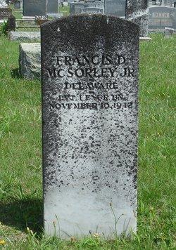 PFC Francis Daniel McSorley, Jr