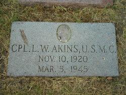 "CPL Leonard ""Wally"" Akins"