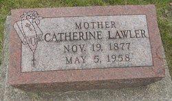 """Catherine """"Kate"""" <I>Wolf</I> Lawler"""