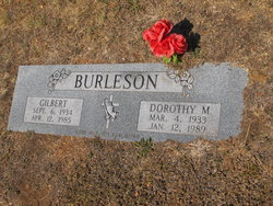 Dorothy Mae Burleson
