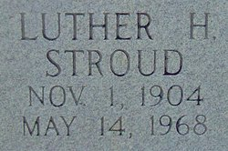 Luther H Stroud