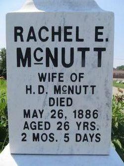 Rachel E. <I>Dunham</I> McNutt