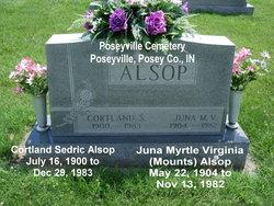 Juna Myrtle Virginia <I>Mounts</I> Alsop