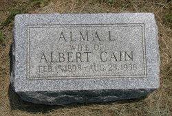 Alma Lenora <I>Bane</I> Cain