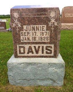 Junnie <I>Hinshaw</I> Davis