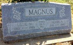"Lillian M. ""Lillie"" <I>Andrewson</I> Magnus"