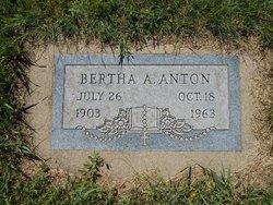 Bertha A Anton