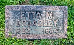 Etta M. <I>Skidmore</I> Broadley