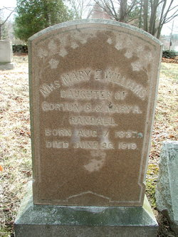 Mary E. <I>Randall</I> Williams