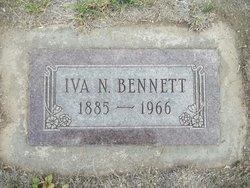 Iva N <I>Woodside</I> Bennett