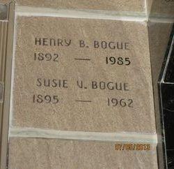 Susie Verle <I>Edwards</I> Bogue