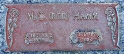 """Mittie C. """"Red"""" Hamm"""