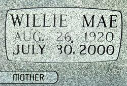 Willie Mae <I>Mimms</I> Pierce
