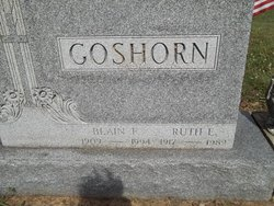 Ruth E <I>Timmons</I> Goshorn