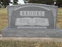 Nellie Ann <I>Buchanan</I> Brooks