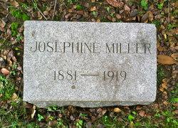 Josephine A <I>Miller</I> Miller