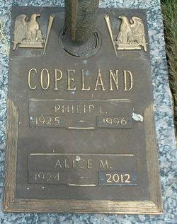 Alice M <I>Anderson</I> Copeland