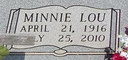 Minnie Lou <I>Dowdy</I> Jennings