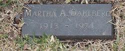 Martha A Dahlberg