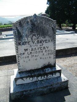 Kate Victoria <I>Savage</I> Savery