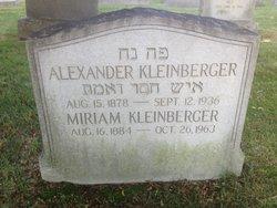 Miriam <I>Glasser</I> Kleinberger
