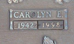 Carolyn E <I>Parks</I> Benson