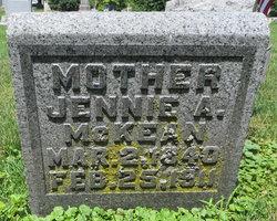 Jennie Amelia <I>Cardinal</I> McKean