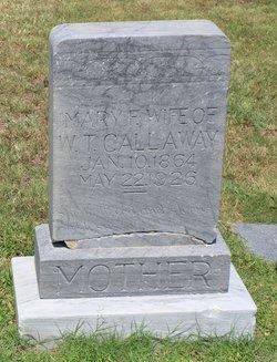 Mary Francis <I>Moore</I> Callaway