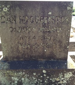 "Daniel ""Dan"" McCorriston"