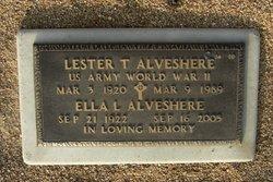 Lester T Alveshere