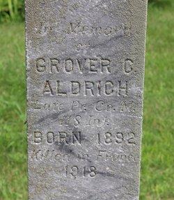 PVT Grover Cyrus Aldrich