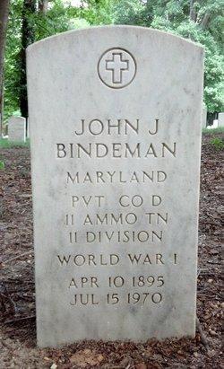 John J Bindeman