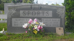 Pearlie Mae <I>Lovette</I> Sports