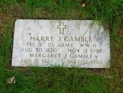 Margaret J Gamble