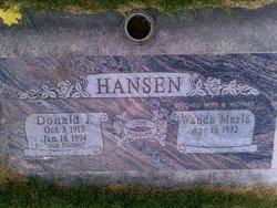 Donald J Hansen