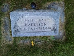 Mary Myrtle <I>Hall</I> Harrison