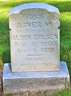 Agnes M Colsen