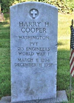 Harry H Cooper