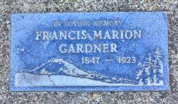 Francis Marion Gardner