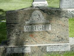 Sarah <I>Squires</I> Wright