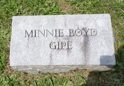 Minnie <I>Boyd</I> Gipe