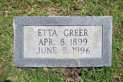 Etta Greer