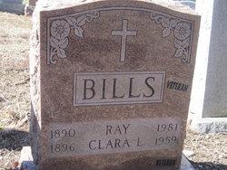 Clara Linwood <I>Elwell</I> Bills