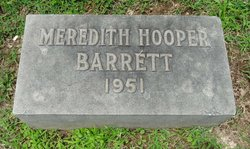 Meredith Hooper Barrett