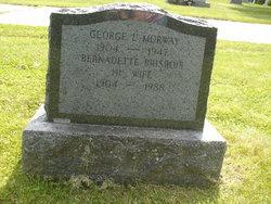 Bernadette <I>Brisbois</I> Morway