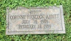 """Corinne """"Keeny"""" <I>Hancock</I> Abbitt"""