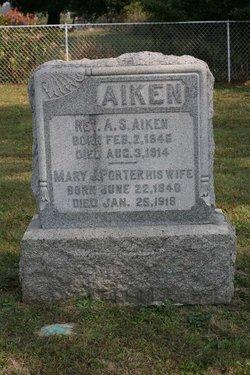 Mary J. <I>Porter</I> Aiken