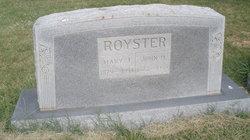 Mary Johanna <I>LaReau</I> Royster